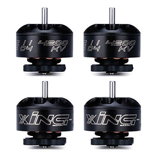 iFlight 4pcs XING-E 1104 4200KV Micro Brushless Motor for 90-130mm FPV Racing Drone Frame Quadcopter