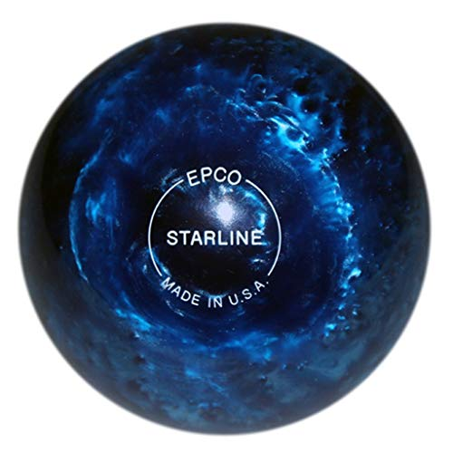 "Bowlerstore Products Candlepin Starline Bowling Ball 4.5""- Blue Pearl 2lbs 6 oz"
