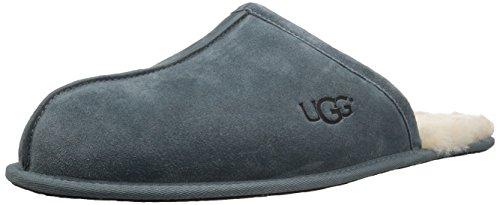 UGG Men's Scuff Slipper, Salty Blue, 12 M US
