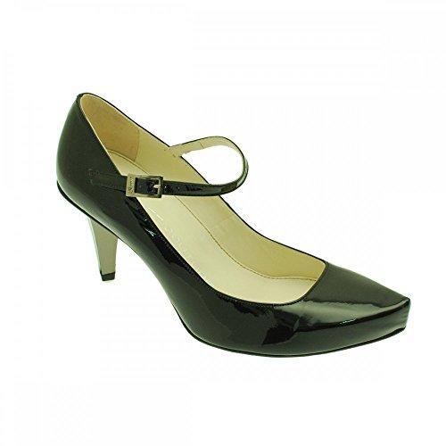 Strutt Couture Strap Over Court black patent gTH1wB