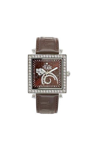 Prima Classe Women's PCD 949S/UU Square Stainless Steel Swarovski Sunray Dial Watch