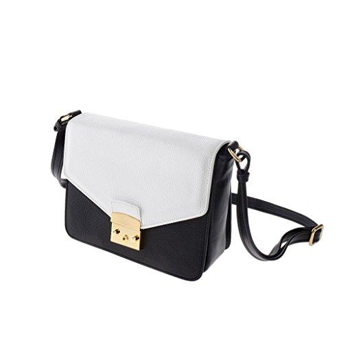 Dudu - Sac porté épaule - Dollaro - Sac porté épaule - Noir/Blanc -femme