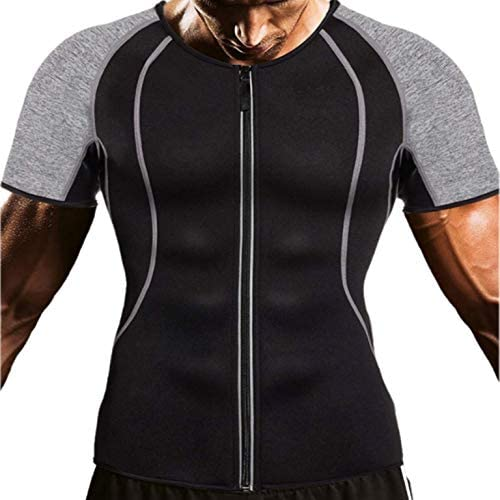 サウナスーツ メンズ 加圧シャツ ダイエットスーツ ダイエットウェア スポーツウェア ジョギング トレーニングウェアイエットウェア スポーツウェア ジョギングウェア 運動着 発汗 シャツ