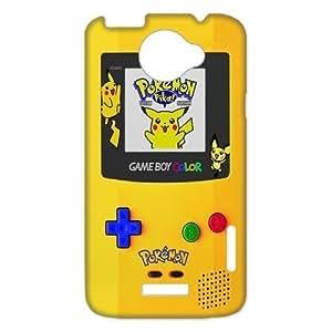 Customilzed Cute Cartoon Design Pikachu for HTC One X Case