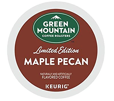Green Mountain Coffee Roasters Maple Pecan flavor single serve capsules for Keurig K-Cup pod brewers