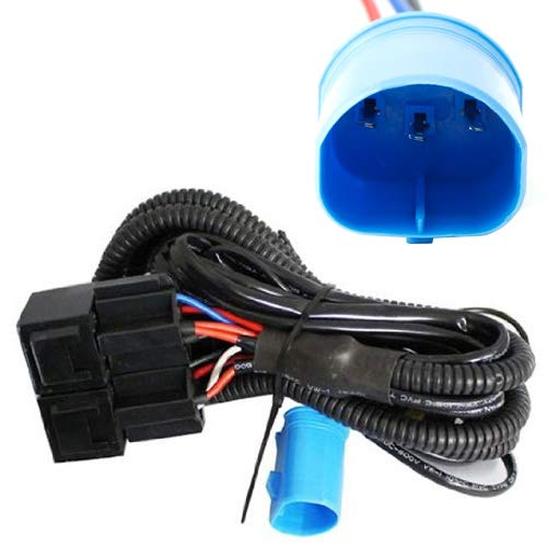 iJDMTOY Headlight High/Low Conversion Relay Wire Harness For Original 9004 9007 HB5 Headlamps To Separated 9005/9006 High Beam & Low Beam Headlights (9006 Heavy Duty Wire Harness)