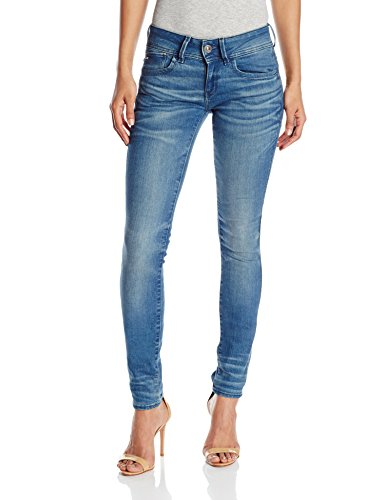 G-STAR Lynn Mid Skinny Wmn – frakto superstretch – Pantalones para mujer