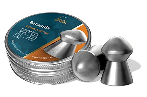 H&N Baracuda Domed Pellets .177 Caliber 10.65 Grains 400 Count
