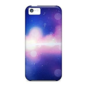 Hot Tpye Space Lights Case Cover For Iphone 5c