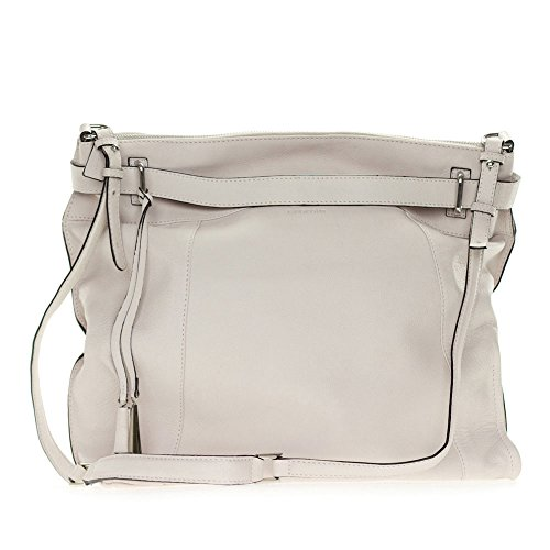 Cromia Italia Made Off-White Stone Leather Large Carryall for sale  Delivered anywhere in USA