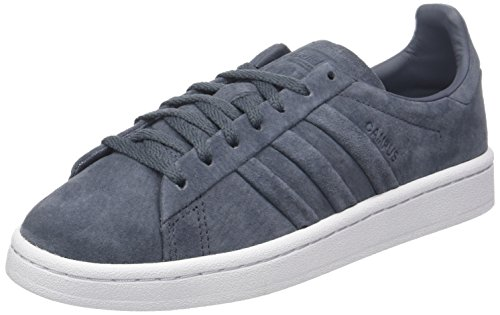 Adidas Mujer Campus para Metallic Gold and Gris Stitch Zapatillas Onix Turn qfxqaYT