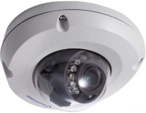 Gv-Edr1100-0F 1.3Mp 2.8Mm Low Lux Target Series Fixed Rugged Dome Cam, Ip67, Dc