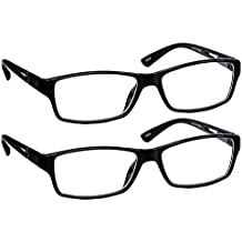 Black Computer Reading Glasses 3.25 _ Protect Your Eyes Against Eye Strain, Fatigue and Dry Eyes from Digital Gear with Anti Blue Light, Anti UV, Anti Glare, and are Anti Reflective
