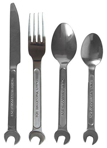 Diesel By Seletti Machine Collection Cutlery Set DIY by Diesel with Seletti (Diesel Collection)