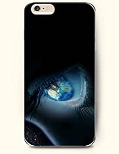 New Case Cover For Apple Iphone 6 Plus 5.5 Inch Hard Case Cover - Blue Dazed Eye