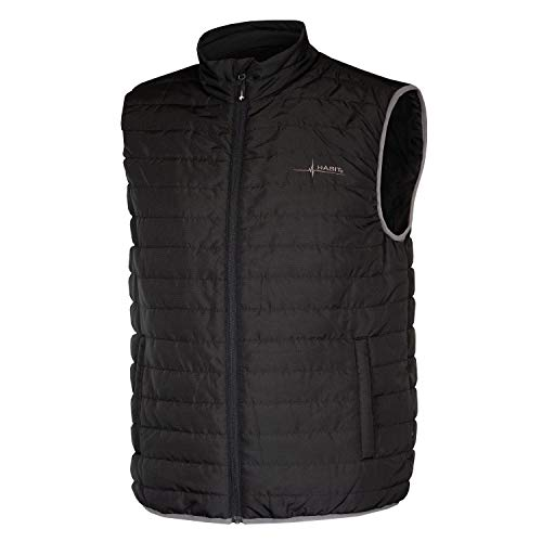HABIT Men's Quentin Mountain Quilted Vest, 2X-Large, Black