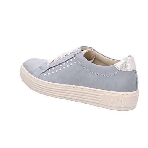 Lace Blue 80311 Flats Women's up 32001 Solidus taRHwfzZq