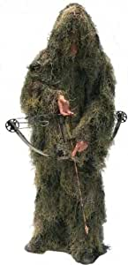 "Ultra-Light Paintball Ghillie Suit Jacket & Pants Woodland - XL (36"" - 50"")"