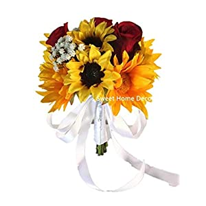Artificial Flowers Arrangements Sunflowers