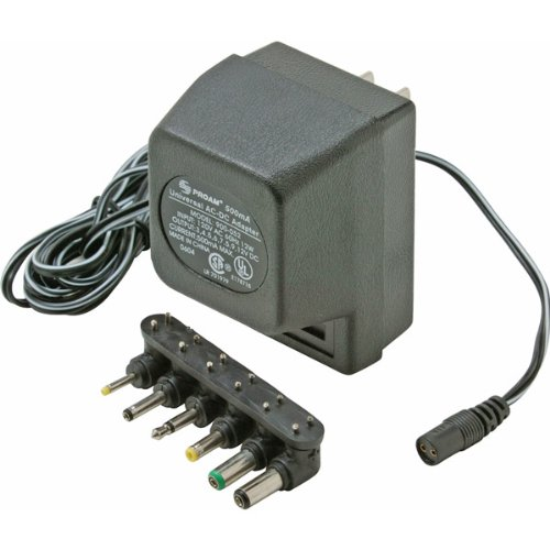 500mA Universal AC Adapter UL Electronics & computer accessories