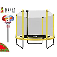 """LANGXUN Christmas Gifts for Kids - 60"""" Trampoline for Kids - 5ft Outdoor & Indoor Trampoline   Birthday Gifts for Kids, Gifts for Boy and Girl, Baby Toddler Toys (2020 Upgrade)"""