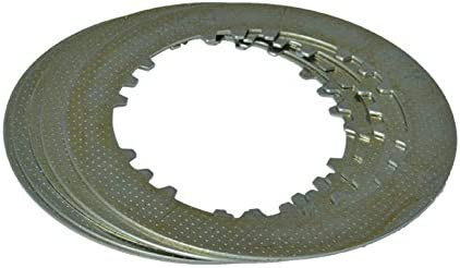 NO LOGO 6 Columna Enhanced Embrague (6pcs fricción Placas + 5pcs Hierro Disco) de Ajuste fijado for Honda CG150 CG175 CG200 cG250 CG300 (Color : 5pcs Iron)