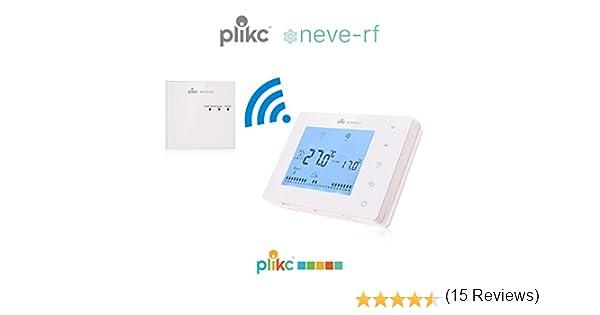Cronotermostato semanal digital inalámbrico Plikc - Neve-rf ...