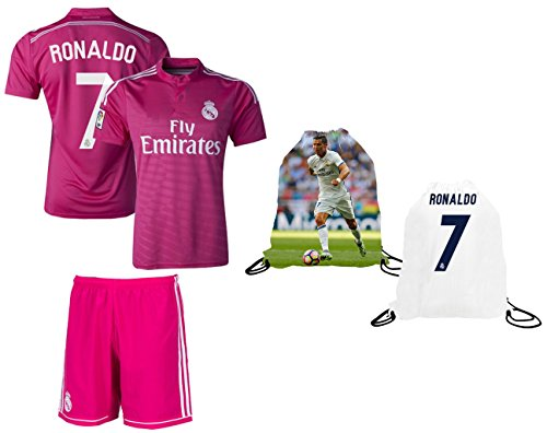 best sneakers 6e899 3a11d Fan Kitbag Cristiano Ronaldo Soccer Jersey & Shorts #7 Pink ...