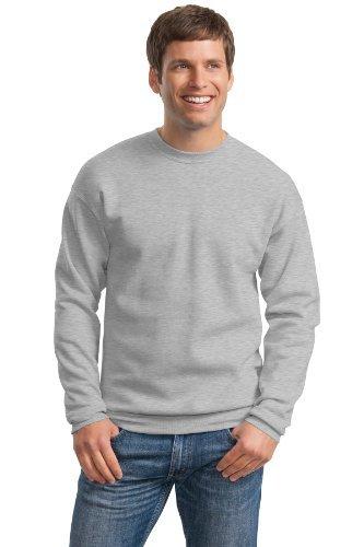Hanes ComfortBlend EcoSmart Crew Sweatshirt_Light Steel_XL