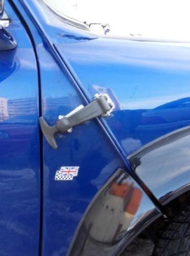 Schwarz Motorhaube Gummi Haken Kit Lock Down Kapuze Schl/össer Pins Racing Rally Verwendung