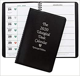 2020 Liturgical Desk Calendar Episcopal Liturgical Desk Calendar 2020: Church Publishing