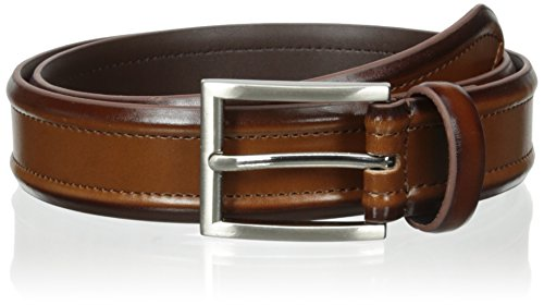 m Leather Casual Belt, Cognac, 34 (Belt Cognac)