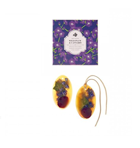 Rosy Rings Wild Plum & Cannabis (Oval Wax Sachet (Set of ()