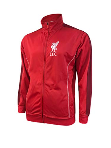 Icon Sports Liverpool FC Official Licensed Track Jacket (Adult Medium) Red