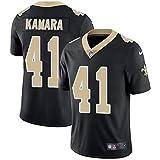 Nike Men's New Orleans Saints #41 Alvin Kamara Black Home Football Jersey