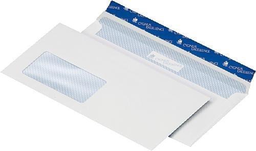 Cygnus 226010 Briefumschläge alle besonders umweltfreundlich hergestellt, weiß weiß