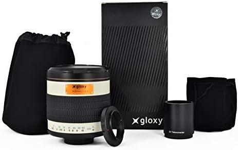 Gloxy teleobjetivo 500mm-1000mm f/6.3 para Nikon D3500 / D3400 ...