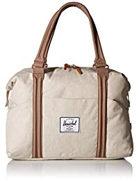 Herschel Strand Duffel Bag, Overcast Crosshatch/pine Bark, One Size