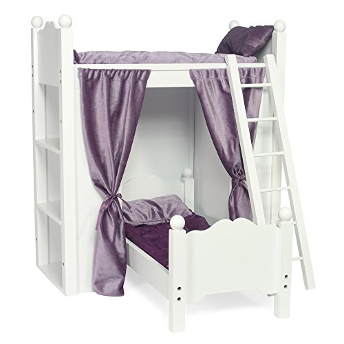 Fits american girl doll loft bunk bed furniture with for Furniture of america assembly instructions