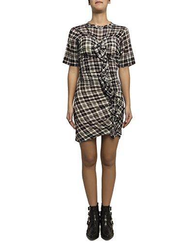 isabel-marant-womens-r0087017p020e01bk-white-black-cotton-dress
