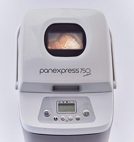 Ariete Panexpress 750 Macchina del Pane Fatto in Casa, 19 Programmi, capacità 500 g, Acciaio Inox, Bianco 6