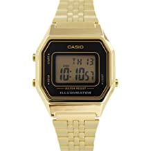Casio Women's Illuminator LA680WGA-1 Gold Metal Quartz Watch