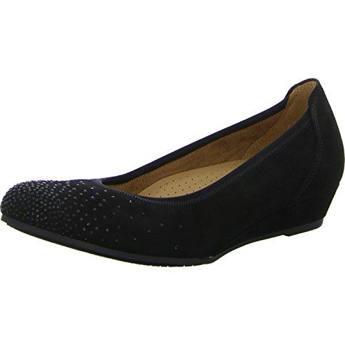 Gabor Shoes Comfort Sport, Bailarinas para Mujer, 47 EU Negro (47 Schwarz)
