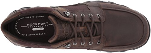 Springs Shoe Plus Walking Men's to Brown Cold Dark Lace Rockport Toe wqpE8wt