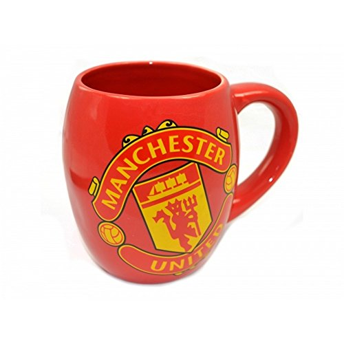 MANCHESTER UNITED FC TEA TUB MUG - RED MUG WITH THE MUFC CREST ON THE FRONT. LARGE MUG, HOLDS OVER 16 OUNCES. PERFECT FOR ANY MANCHESTER UNITED FAN. GET YOURS TODAY. Dart Big Drink Cup