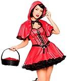 Sexy Dark Little Red Riding Hood Halloween Costume