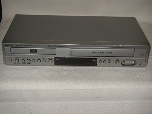Sanyo DVW7100 DVD player with Built-in 4-HEAD Hi-Fi VCR recorder