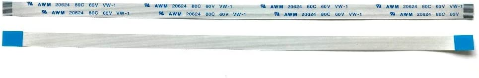 Cable Length: 199mm Computer Cables FFC AWM 20624 80C 60V VW-1 for HP DV6000 DV9000 Power On Flexible Cable 12 pin Lenth 200mm Width 5mm 100/% Work 90 Warranty Days