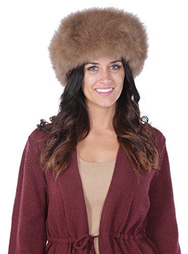 Alpaca Fur Hat - Russian Cossack style (Mocha)