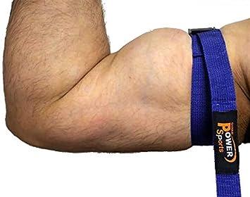 Bicep Strap MX BICEPS Flujo Sanguíneo RESTRICCIÓN Oclusión Entrenamiento CINTAS ayudarle a Gana Músculo más rápida